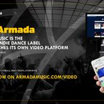 Armada Music to launch video platform