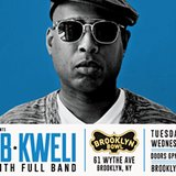 Talib Kweli LIVE with full band! at Brooklyn Bowl