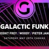 Galactic Funk w/ Benedikt Frey, Woody, Pieter Jansen