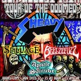 Sheavy / Spillage / Beelzefuzz / Apostle of Solitude at Reggies Music Joint