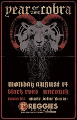 Year of the Cobra / Black Road / Uncouth / Rosaries