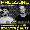 Pressure with Bigspin / Kutz / Delamota / Dioptrics / Fineprint