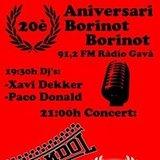 Festa 20è Aniversari Borinot Borinot a la Sala Sidecar