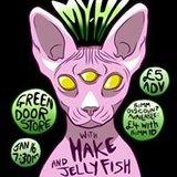MY-HI, HAKE, & JELLYFISH @ The Green Door Store, January 16th 7:30PM.