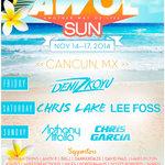 AWOL SUN 2014 Makes Official Lineup Announcement