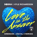 LOVE IS THE ANSWER BY BOBINA & KYLE RICHARDSON received two remixes from Dimension & Digital X