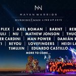 The first artists playing at Burning Man 2015 have been revealed