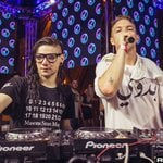 Diplo & Skrillex Had A Hard Time Getting Into Rihanna's NYFW Afterparty